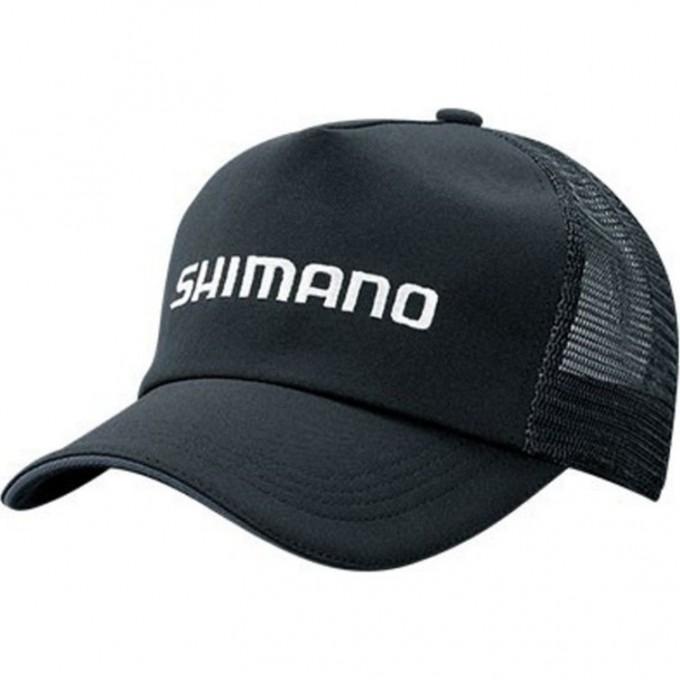 Кепка SHIMANO STANDARD MESH CAP BLACK REGULAR SIZE 5YCA042Q1F