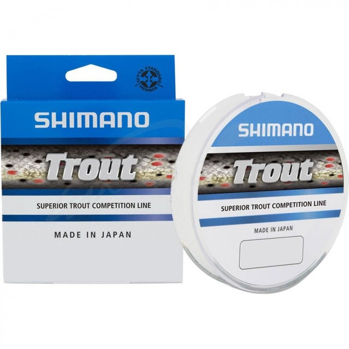 Леска SHIMANO TROUT COMPETITION MONO 150m красная 0,12мм TROUTCM15012