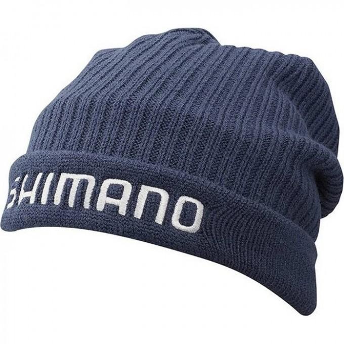 Шапка SHIMANO BREATHHYPER+ FLEECE KNIT INDIGO REGULAR SIZE WATCH CAP CA064QID