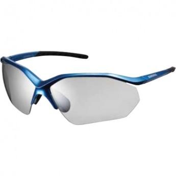 Велоочки SHIMANO EQUINOX 3, голуб/Photochrom - серые, прозрачные ECEEQNX3PHKB